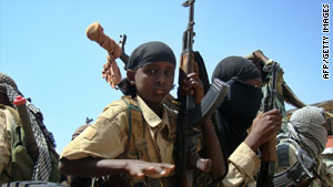 Somalia, which has not had a stable government since 1991, is experiencing a civil war.