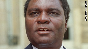Juvenal Habyarimana was killed in April 1994 when his plane was shot down near the country's capital.