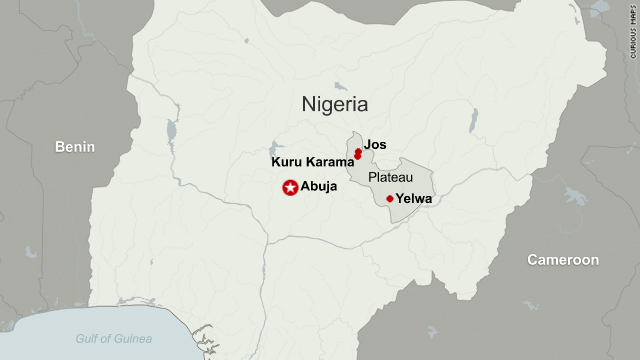 The Plateau State in central Nigeria is home to 50 ethnic groups and simmering local tensions.