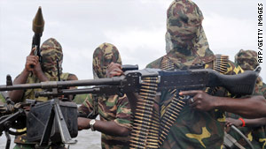 Movement for the Emancipation of the Niger Delta (MEND) rebels have waged war against Nigerian government.