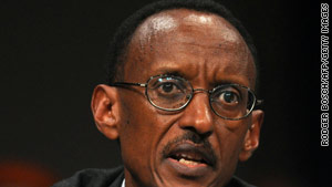 Rwandan President Paul Kagame said his country has made great strides to heal the scars from the 1994 genocide.
