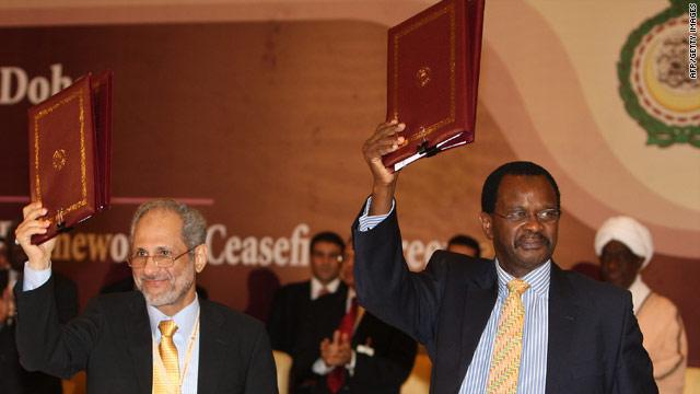 Sudan Signs Cease Fire Agreement With Darfur Rebels Cnn