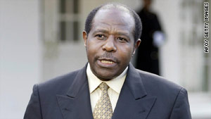 Paul Rusesabagina helped save the lives of more than a thousand Rwandans during the genocide.