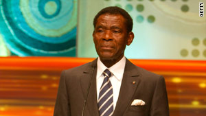 Teodoro Obiang Nguema Mbasogo was re-elected in 2009 in a vote that human rights groups criticized as unfair.