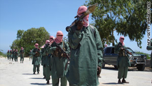 Islamist militants who control parts of Somalia's capital city forbid the playing of music, live or on radio.