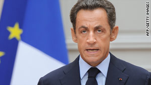 French President Nicolas Sarkozy breaks the news of Michel Germaneau's execution.