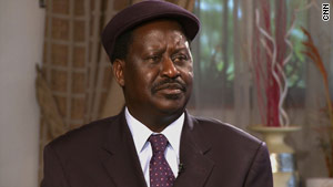 Kenya's PM Raila Odinga is keeping his options open regarding sending troops to Somalia.