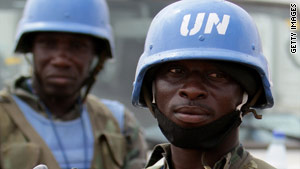 U.N. peace-keeping forces will stay in Darfur for at least 12 more months.