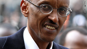 Rwandan President Paul Kagame, here in a file photograph: Relations between South Africa and Rwanda are frosty.