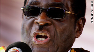"Zimbabwe President Robert Mugabe urged the nation Monday to ""avoid the deadly snare of political conflict."""