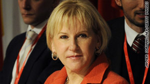 Margot Wallstrom is the U.N. secretary-general's special representative on sexual violence in conflict.