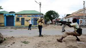 Mogadishu has been a site of frequent skirmishes between Islamist fighters and government forces.