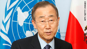 Secretary General Ban Ki-moon called the gang-rapes in the Democratic Republic of Congo outrageous.