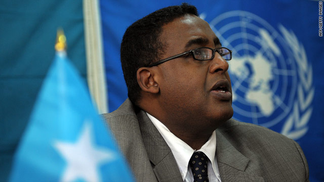 Omar Abdirashid Sharmarke has regularly clashed with Somalia's president.