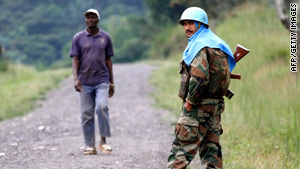 The report said the attacks were compounded by failings on the part of the U.N. stabilization force in Congo.