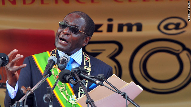 The spat is the latest of many disagreements that have characterized the coalition Mugabe and Tsvangirai formed last year.