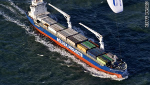 A cargo ship owned by Beluga Shipping was seized by pirates. The ship was freed Monday.