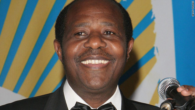 Paul Rusesabagina is credited with saving hundreds in the 1994 genocide in Rwanda.