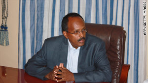 Mohamed Abdullahi Mohamed was educated and worked in Buffalo, New York.