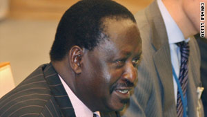A spokesperson for Raila Odinga said his comments were off the cuff and not a directive to arrest anyone.