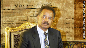 The leaked diplomatic cable from WikiLeaks on Eritrea blames the country's problems on President Isaias Afwerki.