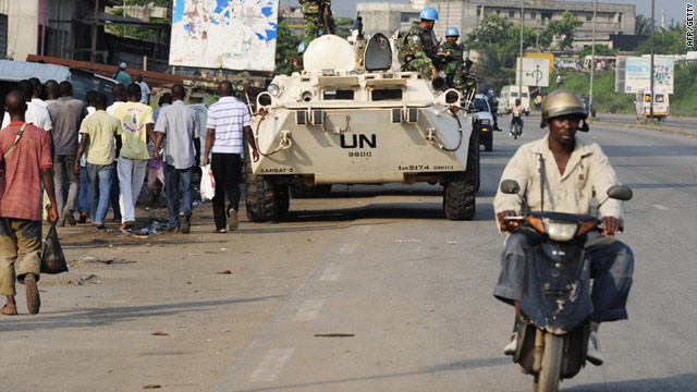 The U.N. already maintains a large peacekeeping force in Ivory Coast.