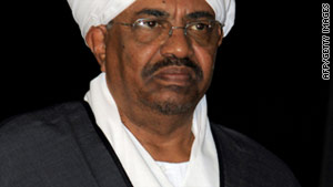 Sudanese President Omar al-Bashir is threatening to tighten the application of Islamic sharia law.