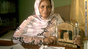 Zeinebou Mint Taleb Moussa has been fighting for women's rights in Mauritania for at least a decade.