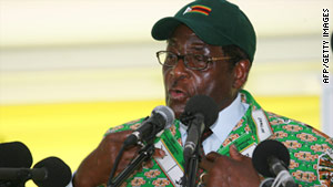 Zimbabwean President Robert Mugabe says he and prime minister Morgan Tsvangirai are not at war.