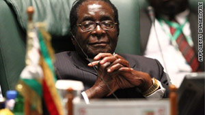 Zimbabwe's President Robert Mugabe, 86, said last week he wanted quick elections to end the coalition government.