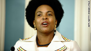 Maite Nkoana-Mashabane, minister of international relations and cooperation for South Africa, applauded the invitation.