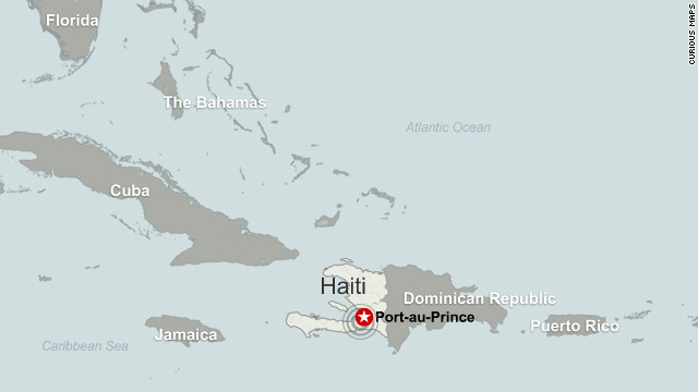 Haiti Map Of World.Facts About Haiti Cnn Com