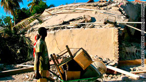 Attention has focused on Port-au-Prince since the quake, but in towns such as Jacmel, the damage is extensive.