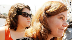Charisa Coulter, left, and Laura Silsby, who have been detained in Haiti, could be set free this week.