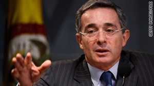 President Alvaro Uribe lost a bid that would have allowed him to run for a third consecutive term.