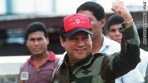 Manuel Noriega has been in prison since his grandson, now 20, was 4 months old.