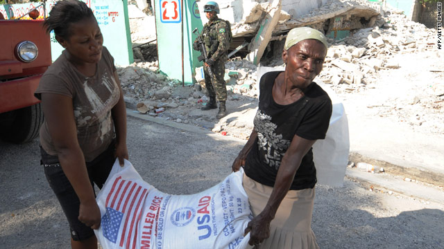 More than two months after a deadly earthquake, many Haitians remain in dire need of basics such as food.