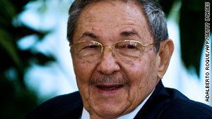 "Cuban President Raul Castro said his country would ""never give in to blackmail"" from any nation."
