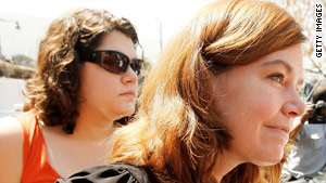Laura Silsby, right, was jailed January 29, along with nine other American missionaries who were later released.