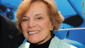 Sylvia Earle's wish is for the creation of ocean 'hope spots'.