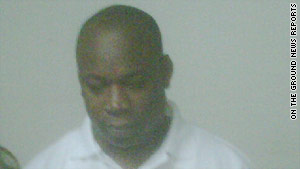 "Christopher ""Dudus"" Coke was booked Tuesday night after his arrest outside Kingston, Jamaica."