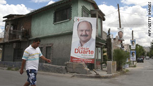 Polls opened in 15 states in Mexico where 12 new governors and dozens of lawmakers will be elected.