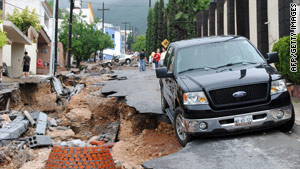 Flooding from Hurricane Alex last week left 40,000 people homeless and 6 dead in the Mexican state of Nuevo Leon.