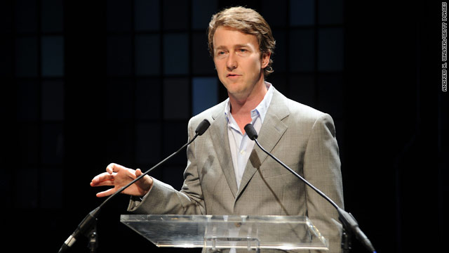 Edward Norton is the new U.N. goodwill ambassador for biodiversity.