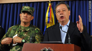 Gabriel Silva claims Colombia knows of apartments in Venezuela used by FARC rebels.