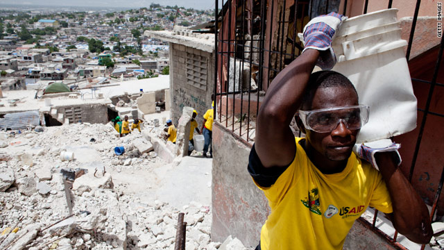 The IMF has canceled Haiti's $268 million debt to the fund so the country can free up more money for reconstruction.