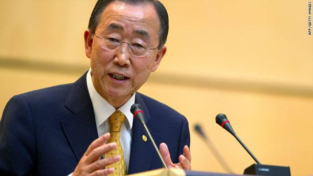 """A departing U.N. official wrote the agency was """"drifting into irrelevance"""" under Ban Ki-Moon's supervision."""