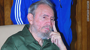 Olive green rebel fatigues were Fidel Castro's signature uniform during his nearly 50 years of rule.
