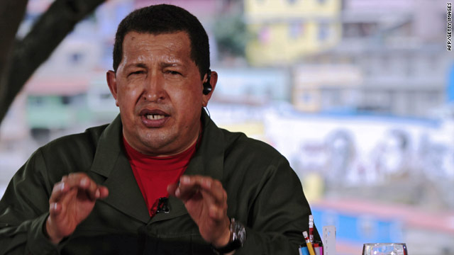 Hugo Chavez said if tensions with U.S. ally Colombia escalate into military action, he'll cut off oil exports to the U.S.