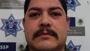Rogelio Hernandez, suspected to be one of the top officials in the Juarez drug cartel, was arrested Tuesday in Chihuahua.